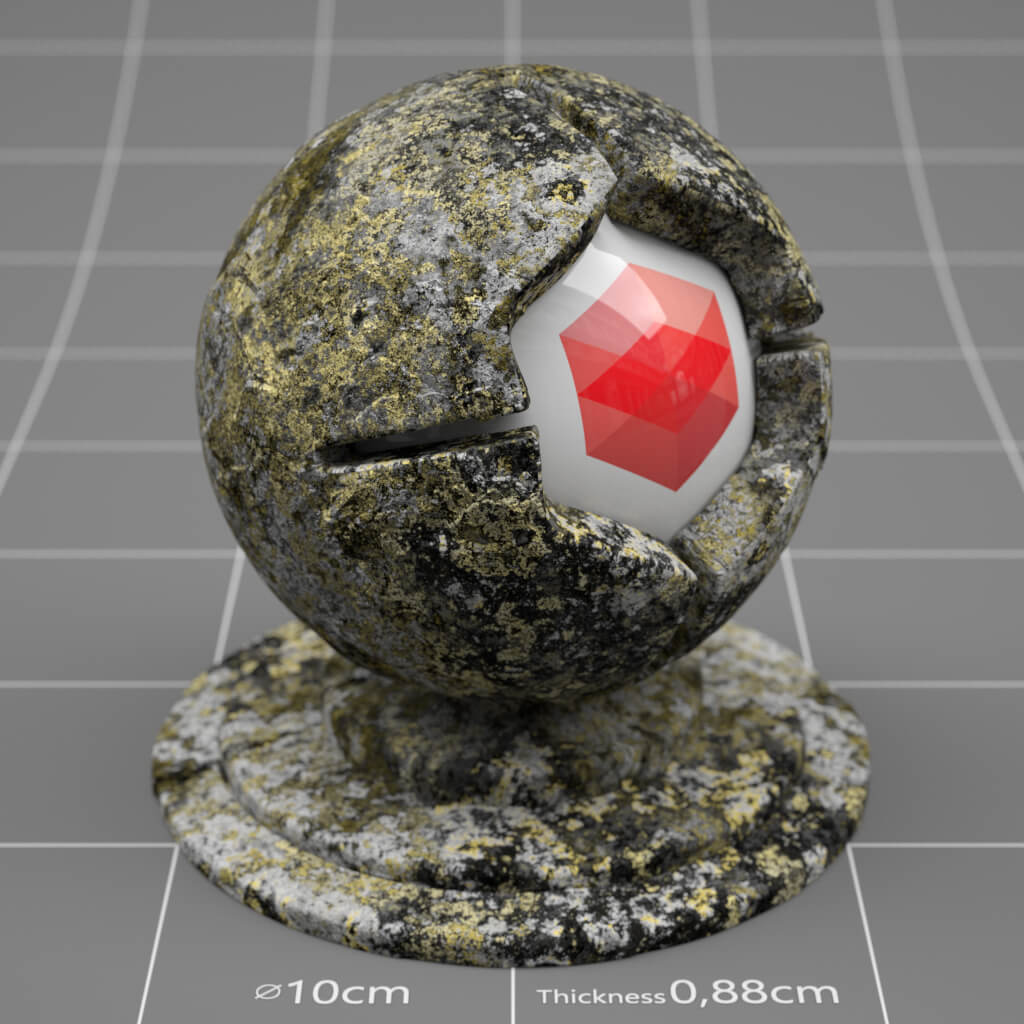 Redshift / Cinema 4D Pack : Material Pack 02 from helloluxx