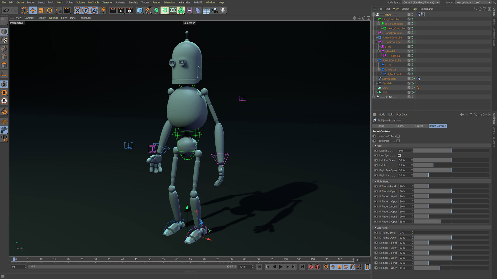Rigging Viewport