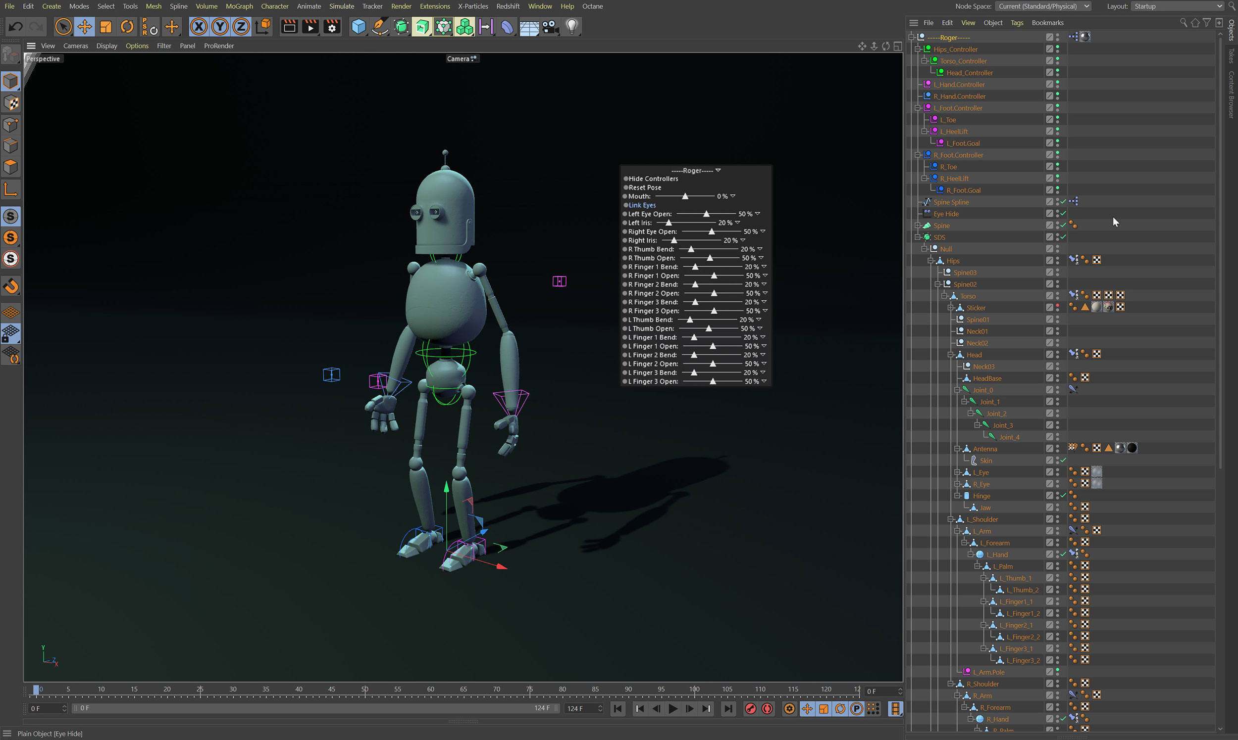 C4D Character Rigging