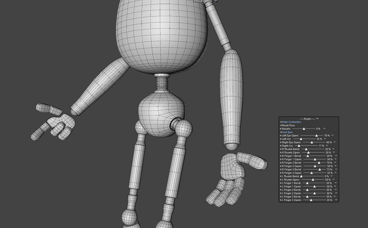 Character Rigging in C4D