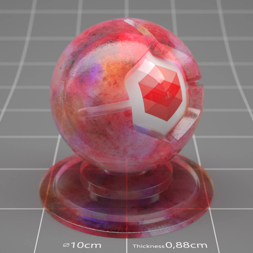 Redshift / Cinema 4D Pack : Material Pack 01 from helloluxx by The Pixel Lab