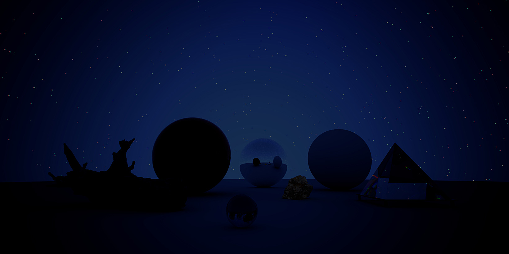 CG HDRI / Winter Collection Skies 02 from helloluxx