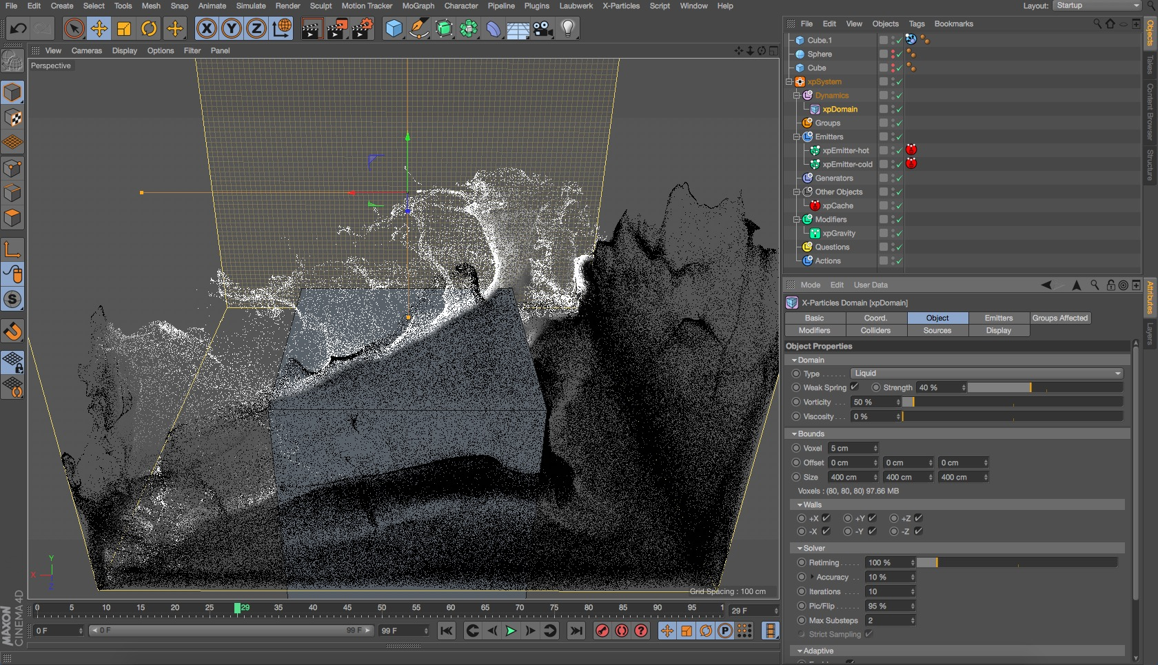 learn. X-Particles with Tim Clapham from helloluxx
