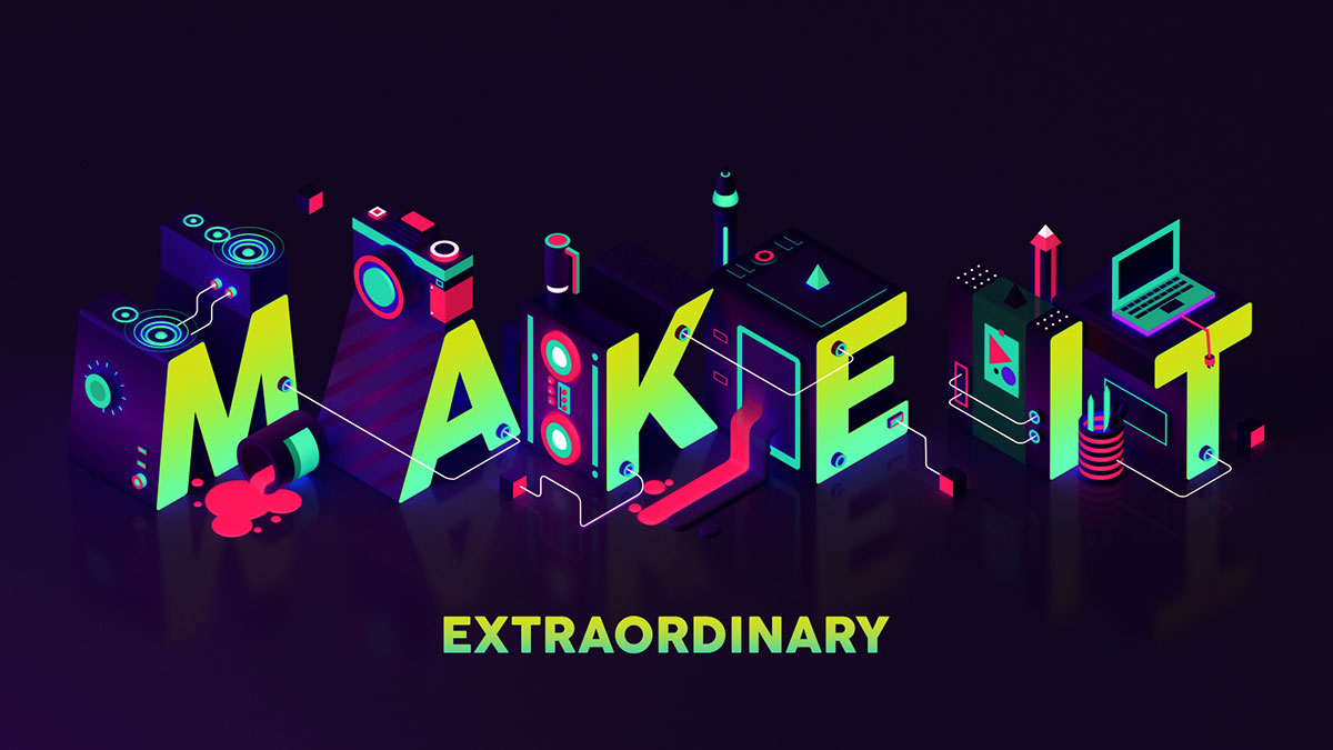 Adobe / Make It - Conference Title Sequence