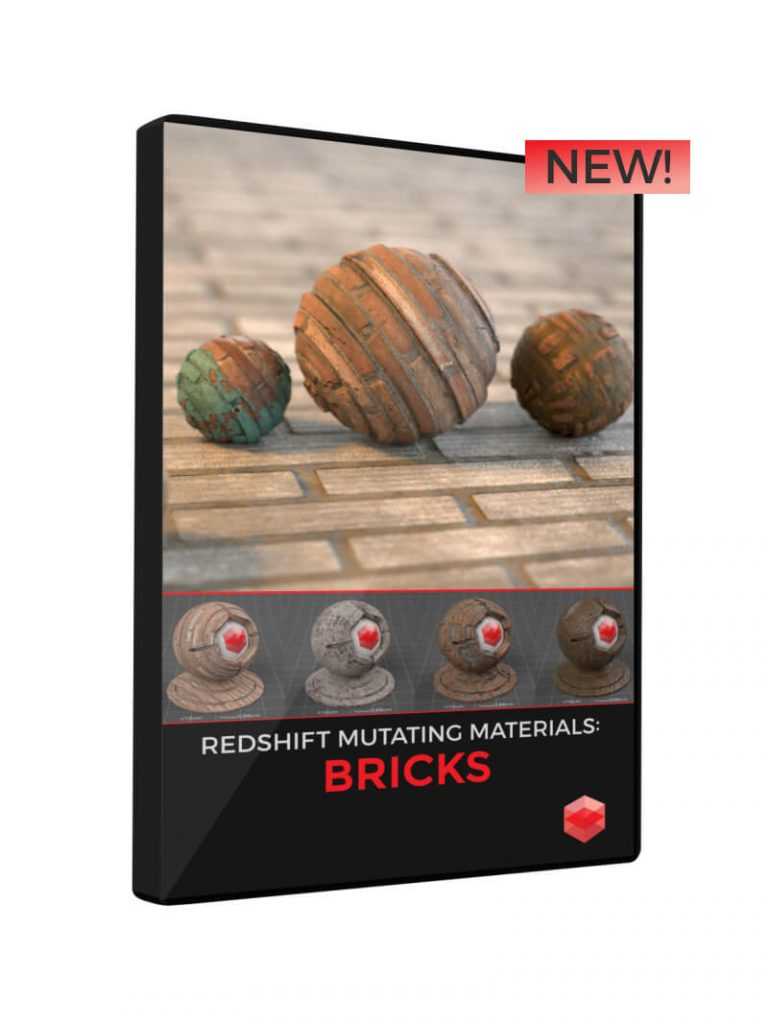 Redshift Mutating Materials Bricks