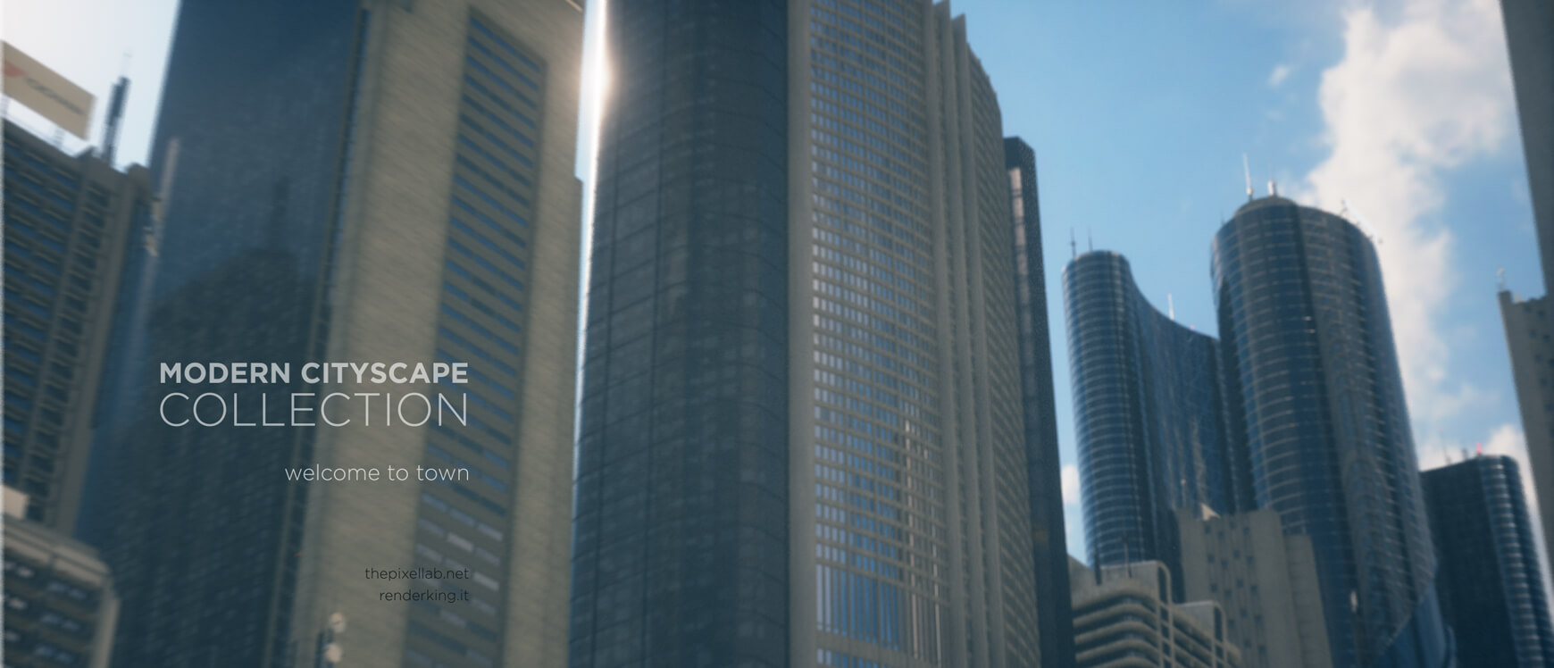 Modern Cityscape Collection C4D