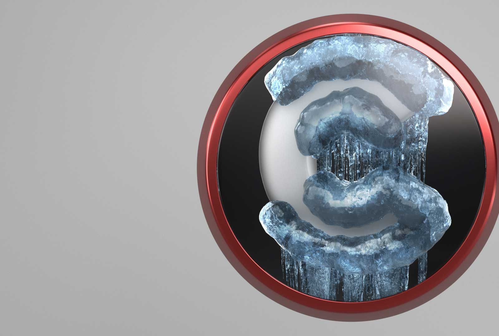 Ice Logo Redshift from helloluxx by Dan Couto