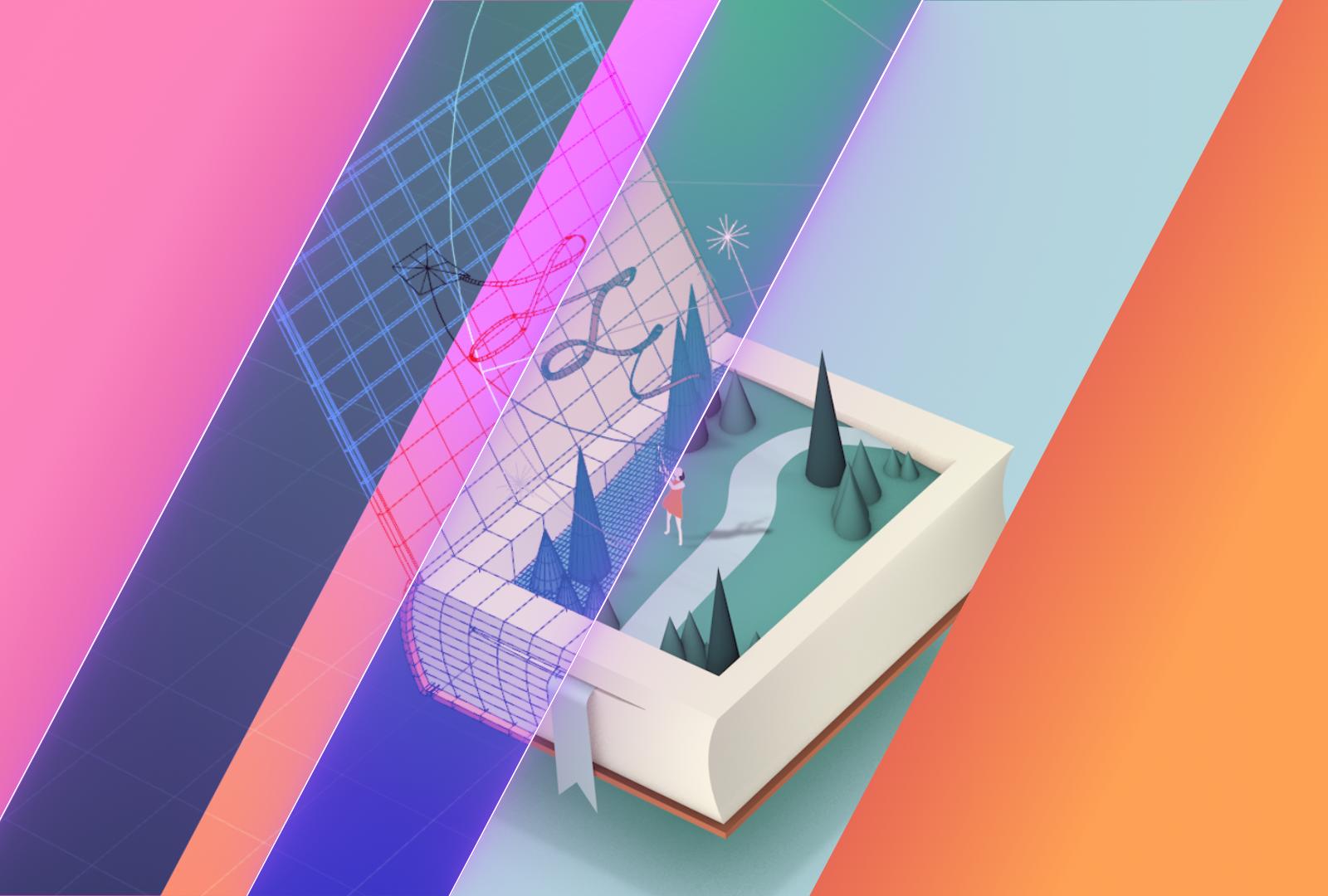 learn 3d illustration